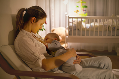 Breastfeeding Guidelines: The first few days at home